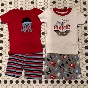 GYMBOREE Cotton Gymmie Pajamas Shorts Boys 6